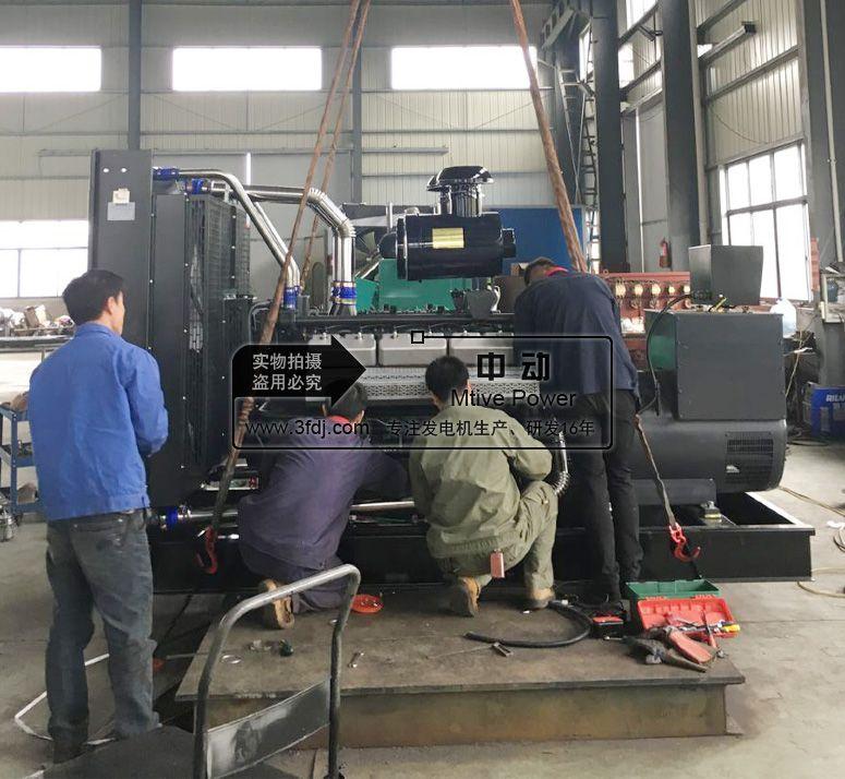 杭州宾馆选用中动电力卡得城仕250kw柴油发电机组用电有保障